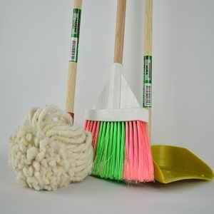 Most commonly used cleaning tools